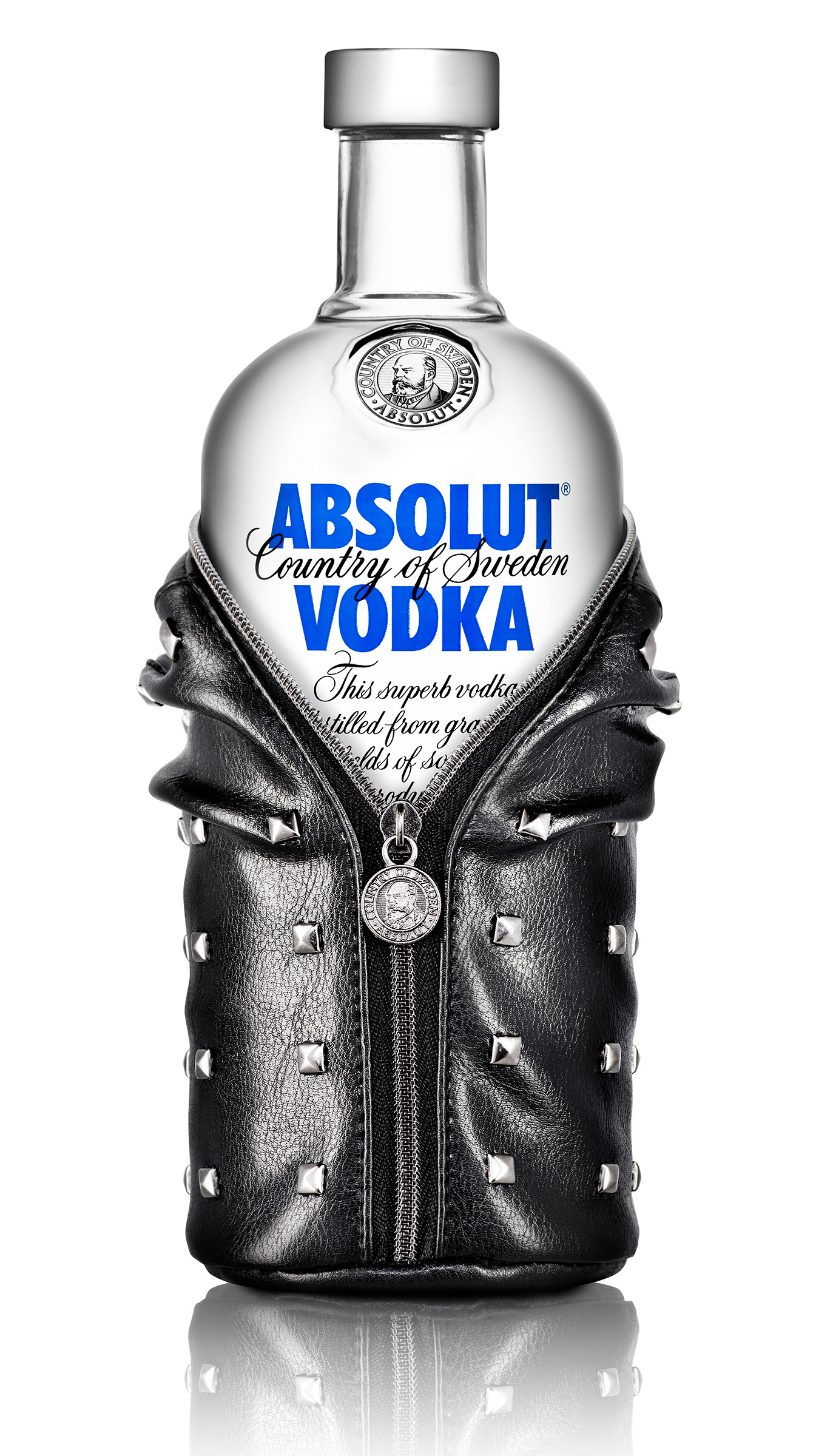 Absolut Rock Alcohol product photography