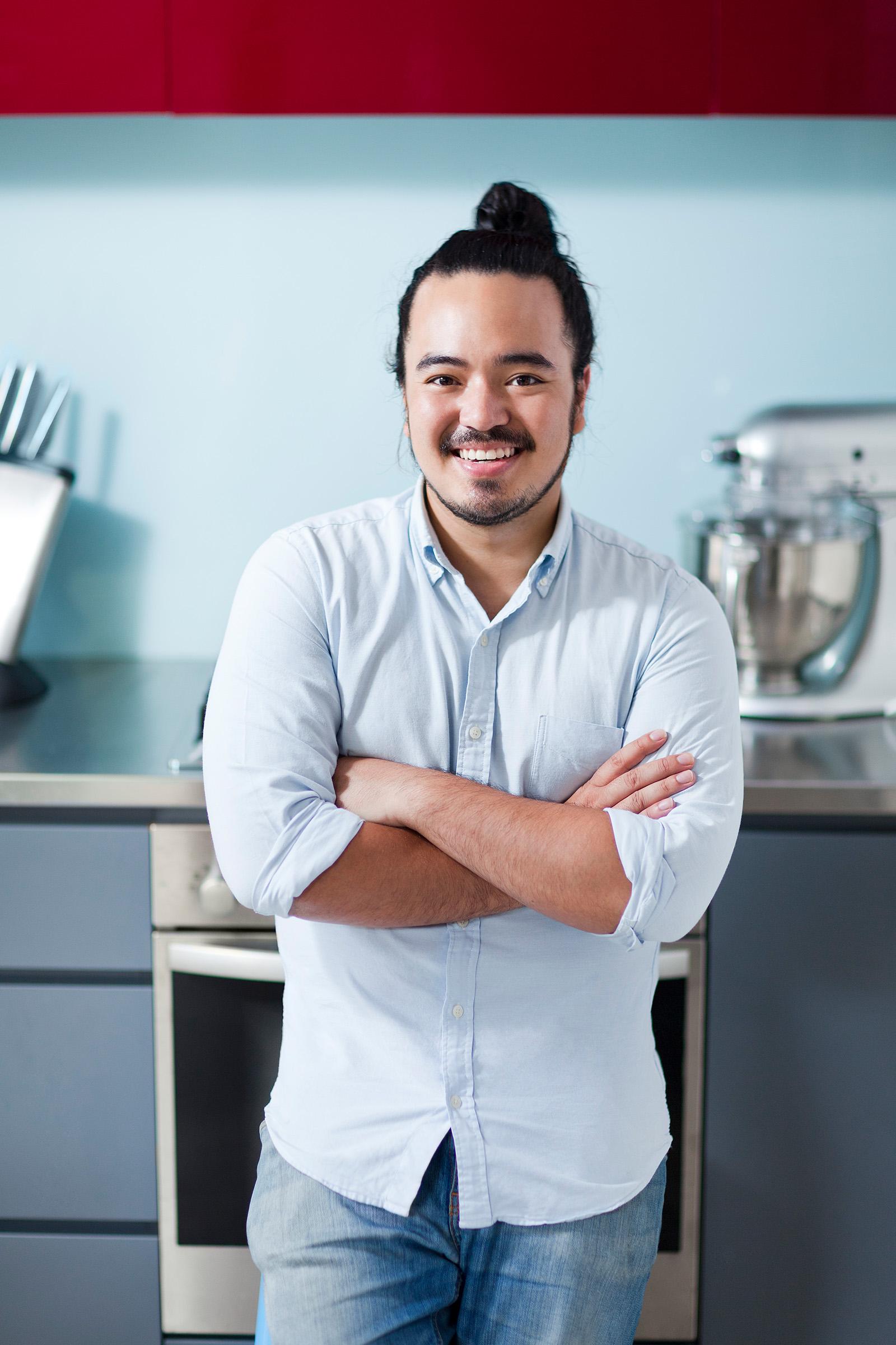 Advertising editorial photography Adam Liaw Malaysian Australian cook MasterChef