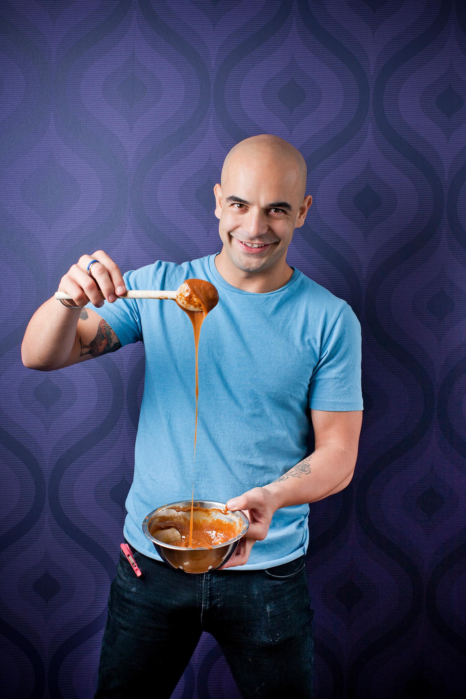 Advertising editorial industry magazine photography Adriano Zumbo Australian patissier pastry chef
