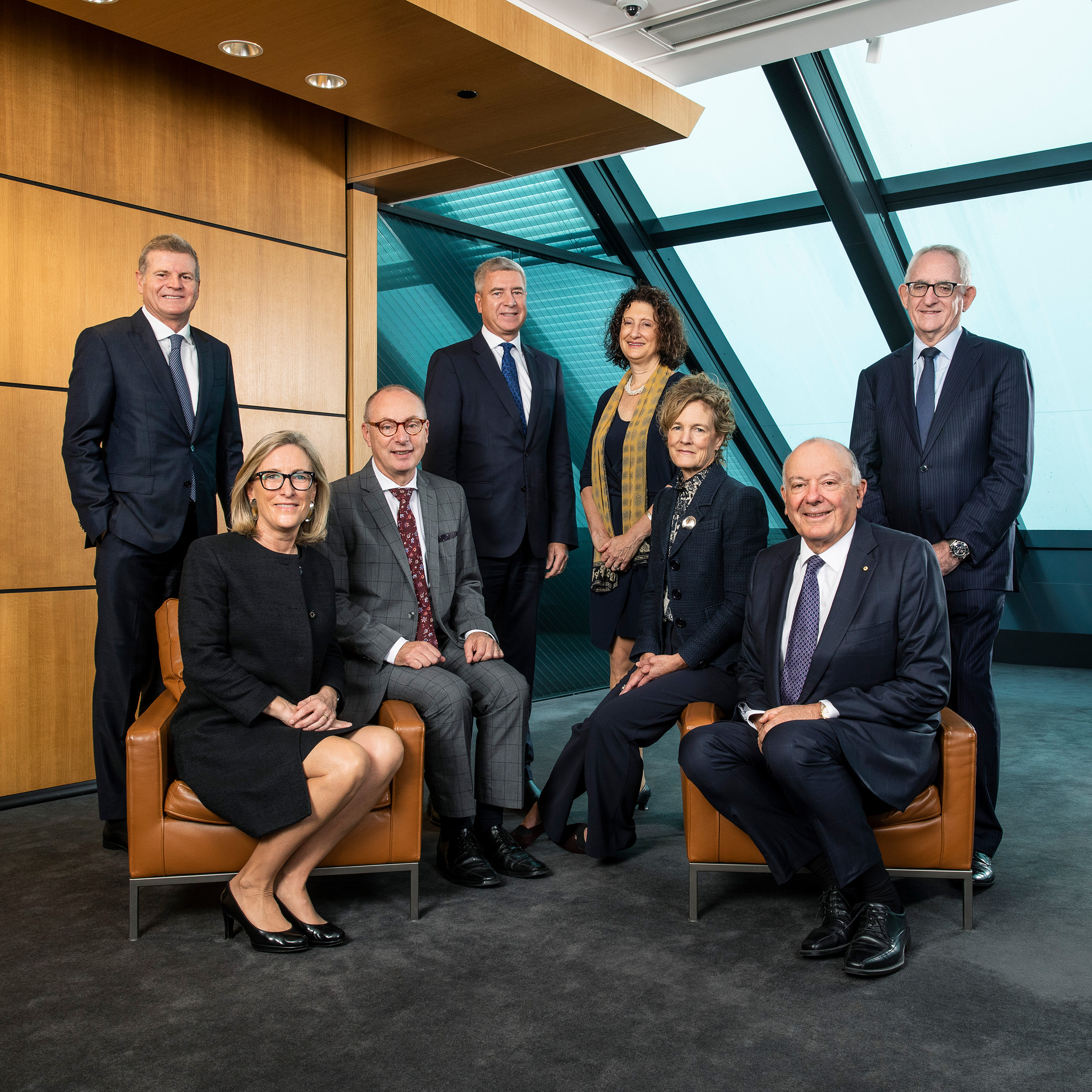 Corporate editorial executive board group shot photography