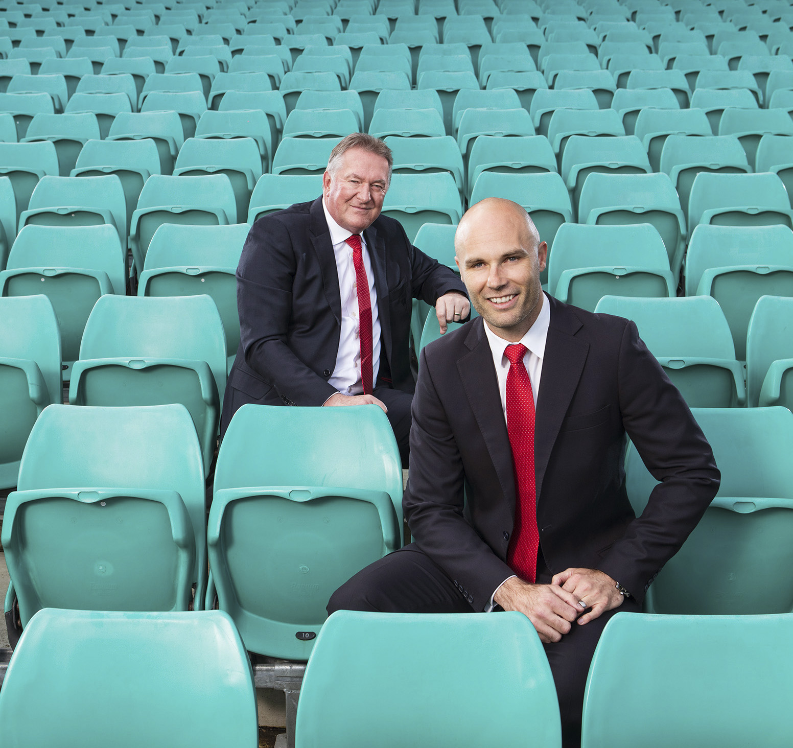 Editorial location Sydney Swans CEO photography Andrew Ireland & Tom Harley AFL HRM SCG grandstand seated