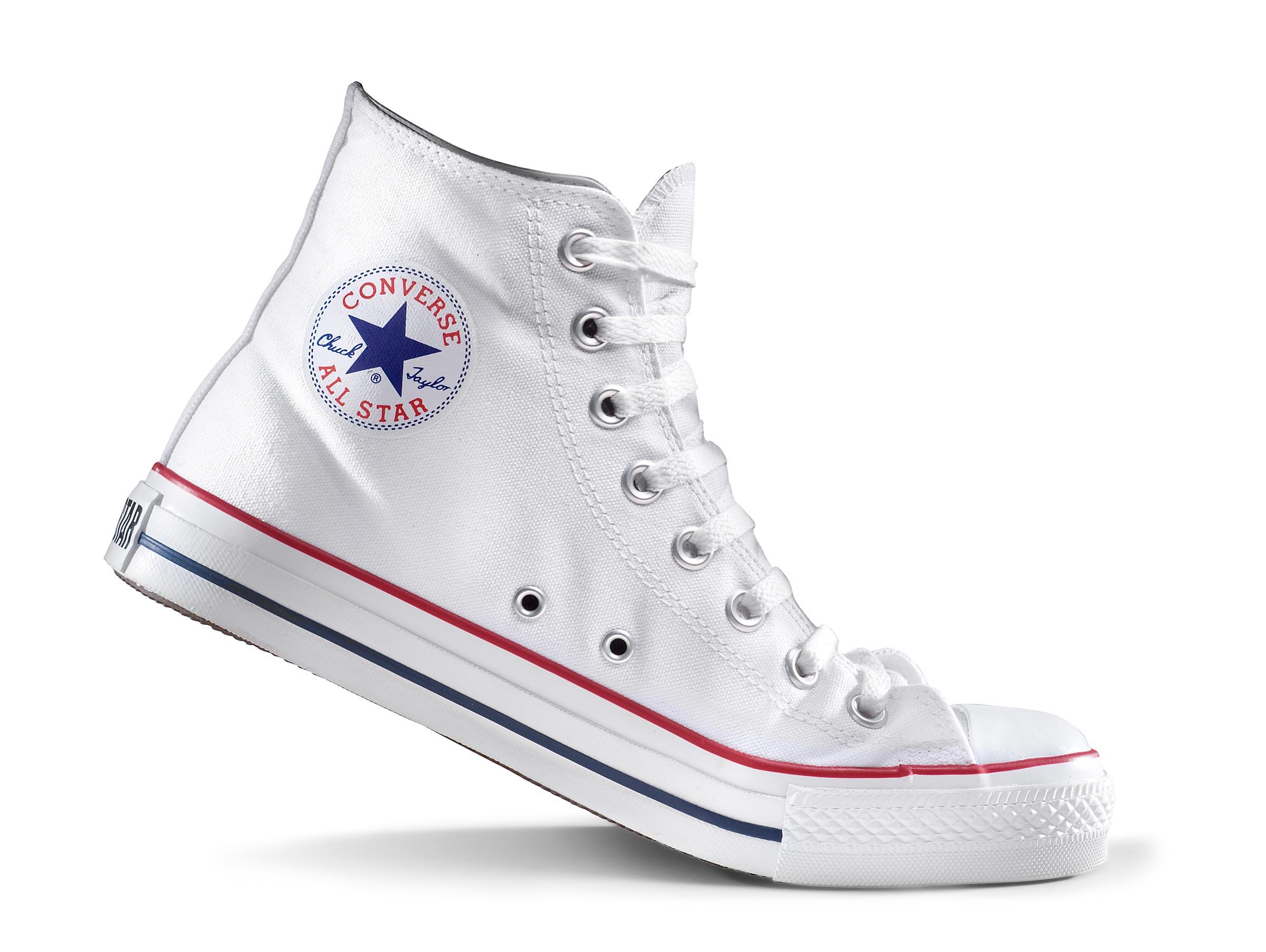 converse high tip white gym boots